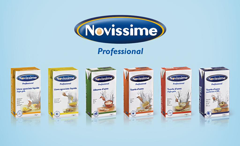 Gamma prodotti Novissime Professional